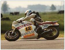 post card Suzuki RGB500 #12 Boet van Dulmen  Dutch TT Assen 1983