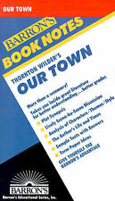 NEW Thornton Wilders' Our Town (Barron's Book Notes) by W. Meitcke
