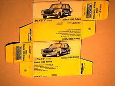 REFABRICATION BOITE SIMCA 1100 POLICE DINKY TOYS 1977