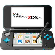 Nintendo 2DS XL Black/Turquoise Handheld System with Mario Kart 7 Bundle