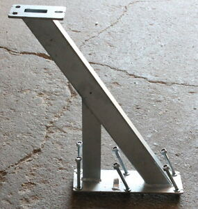 Windenstand Windenbock mit Halterung für Bootstrailer Boot Anhänger verzinkt NEU