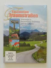 3 DVD Faszination Traumstraßen Deutschland Österreich Schweiz Neu +