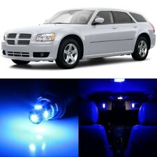 11 x Ultra Blue Interior LED Lights Package For 2005- 2008 Dodge Magnum +TOOL