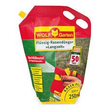 Wolf Garten Flüssig-Rasendünger Langzeit LL250R für 250qm Nachfüllpack 2,5l