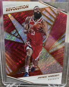 2018 James Harden Panini Revolution Houston Rockets Basketball Card