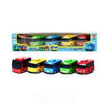 5Pcs The Little Bus Tayo Friction Mini Car -Tayo, Rani, Gani, Rogi, Citu