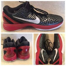 Nike Kobe VI 6 Size 9.5 US Black Varsity Red White All Star Snakeskin 429659-001