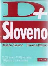 Dizionario Sloveno. Italiano-Sloveno Sloveno-Italiano tascabile avanzato - Nuovo