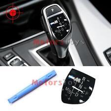 //M Gear Shift Knob Panel for BMW X1 X3 X5 X6 M3 M5 F01 F10 F30 F35 F18 GT 1 3 5