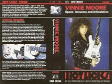 vinnie moore speed accuracy and articulation guitar dvd yngwie malmsteen