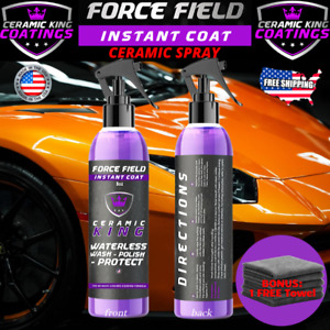 Force Field - Ceramic King Polish Seal Shine Protect Armor Your Ride