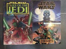 Lot 2 GN Star Wars Tales Of The Jedi & Jedi Vs Sith COMICS TPB