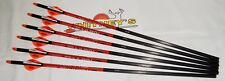 RAVIN Crossbow Bolts / Arrows 400 Grain 6PK R130 .003, Improved Orange nocks