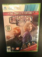 Bioshock Infinite Complete Edition Xbox 360 Brand New Sealed NIB Complete CIB