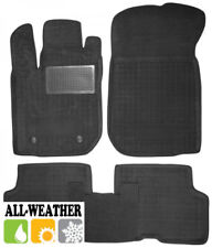 All Weather Floor Liner Velour Carmats Rubber Backing Fit Renault Logan II 2013-