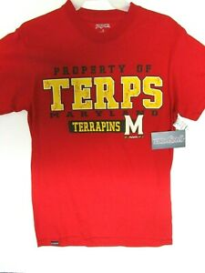 Maryland Terrapins RED NCAA T-Shirt Mens Pick Size New .99 Cent Special