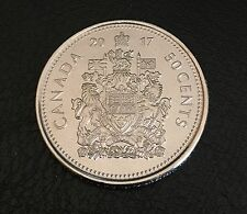 2017 CANADA HALF DOLLAR $1 FIFTY CENT 50¢ PIECE 150 ANNIVERSARY COIN PROOF LIKE