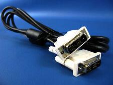 6 Feet DVI DVI-D 18+1 Cable Cord Male to Male M2M Digital Video
