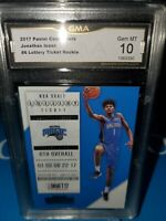 GMA 10 💎 MINT~2017-18 Panini Contenders Lottery Ticket Jonathan Isaac #6 Rookie