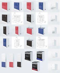 ELDORADOMÖBEL LUX Küchenschrank Hängeschrank Unterschrank Küche Einbauküche