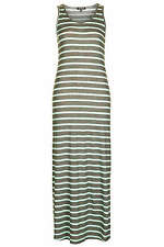 Topshop stripe ribbed maxi dress UK 6 in Mint ( New with tags )