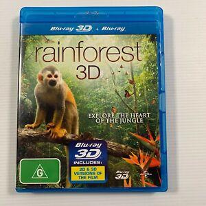 Rainforest 3D (Blu-ray 2012) Documentary Region B