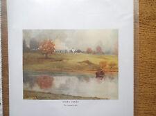 Golf Course Print STOKE POGES Facsimile Of Original 1910 Harry Rountree
