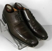 240742 PFi60 Men's Shoes Size 9 M Brown Leather Made in Italy Johnston Murphy
