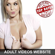 RARE Fully Automated Turnkey Adult Videos Website For sale w/ admin - Must See