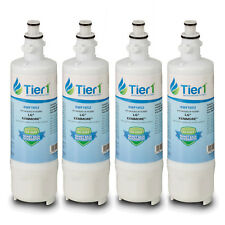 Fits LG LT700P 46-9690 ADQ36006101 Comparable Refrigerator Water Filter 4 Pack