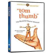 TOM THUMB. Russ Tamblyn musical (1958). Region free. New DVD.