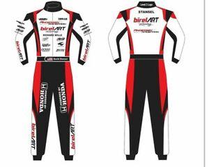 BIREL ART GO KART RACING SUIT CIK FIA LEVEL II WITH DIGITAL SUBLIMATION PRINT
