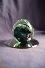 Kerry Glass Paperweight Handmade Ireland