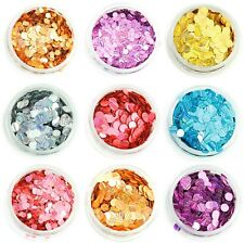Holographic Strip Circle Disks Glitter Face Eye Body Dance Festival Tattoo Nail
