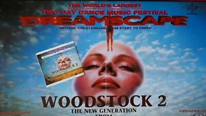Dreamscape Esp Woodstock 20/23 August 1993  @ Fen Farm Rave Flyer & Ticket Stub