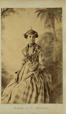 Photo Fabre Albuminé Martinique Les Antilles Vers 1880