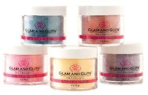 Glam Glits - Manicure Nail Acrylic Color Powder  - 2oz/57g Jar - Choose Color