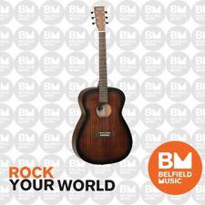 Tanglewood Crossroads Acoustic Guitar Left Handed Whiskey Barrel Burst Satin
