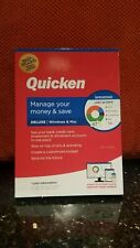 QUICKEN DELUXE 2020 FOR PC and MAC, CD IN BOX, 1 YR SUBSCRIPTION, NEW & SEALED