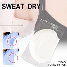 60pcs Underarm Sweat Pads for Men Women Adhesive Sweat Free Armpit Protection