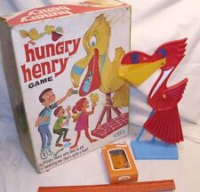 IDEAL HUNGRY HENRY PELICAN BALANCE GAME 1960s BOXED