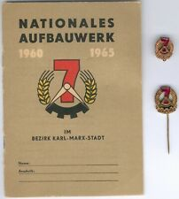 Old East German Lot/3 Item´s inkl. Dokument NAW Karl-Marx-Stadt(Chemnitz) blanko