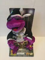 Gemmy Frogz Rock It Rap It Ribbit Hip Hop Frog 50 Cent In Da Club Plush Purple