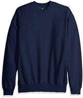 Hanes Men's Ecosmart Fleece Sweatshirt,Navy,4 XL, Navy, Size  OyoV