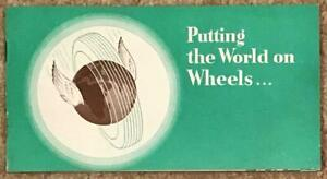 VAUXHALL Publicity Brochure 1939-40  #V907