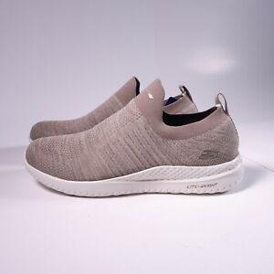 Skechers Men's Matera - Graftel Slip-On Shoes Knit Memory Foam 51909 Taupe