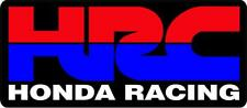 "#z2006 (1) 4.5"" Honda HRC CBR Racing Logo Emblem Decal Sticker Laminated"