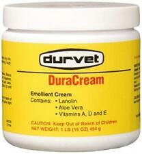 Durvet Duracream Emollient Barrier Cream Soothing Chapped Irritated Skin 1 lbs