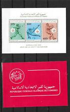 Comoros,1989,2 Booklets,compl,MNH