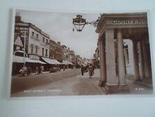 TAUNTON East Street Vintage RPPC Shops+Lennards Boots+Shoes+Wilson+Marke  §A2275